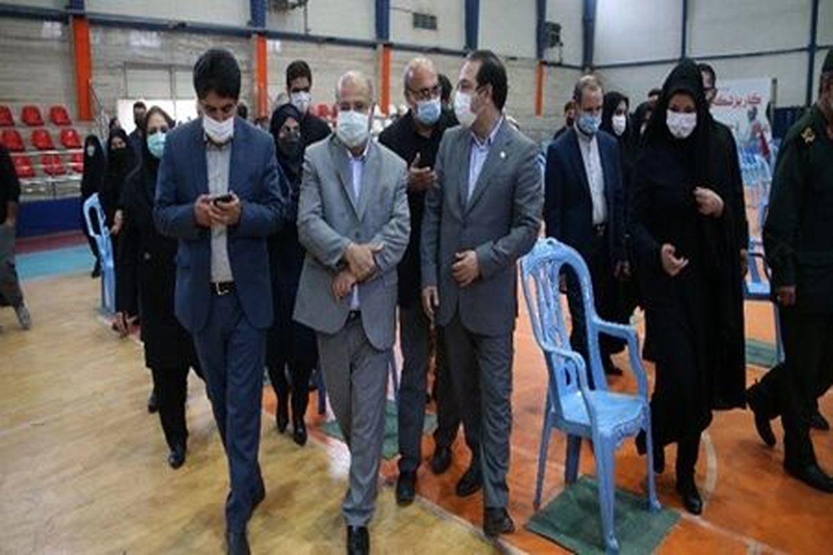 مصلی تهران وارد مدار ارائه خدمات واکسیناسیون کرونا شد
