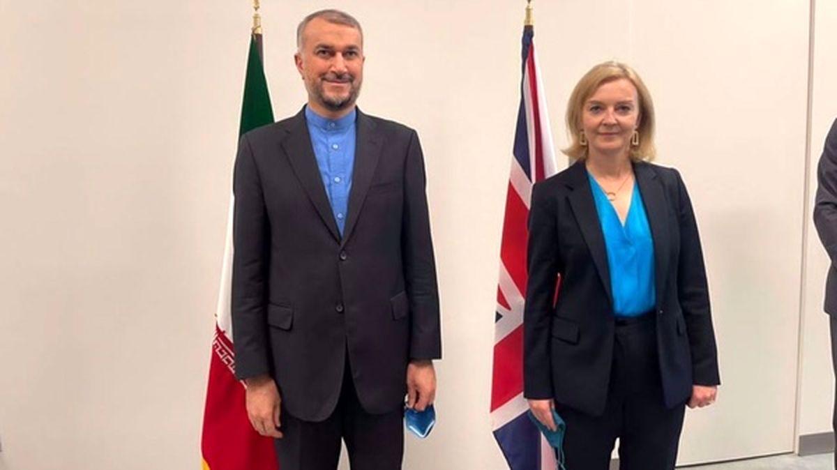 وزیر خارجه انگلیس: دیدار مهمی با امیرعبداللهیان داشتم
