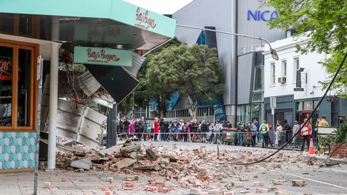 وقوع زمینلرزه در ملبورن