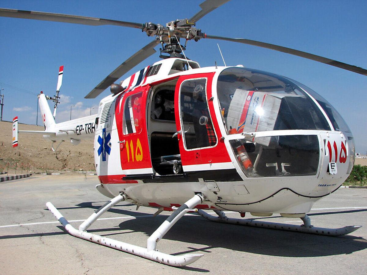استقرار یک بالگرد و ۳۰ دستگاه آمبولانس در مرز شلمچه