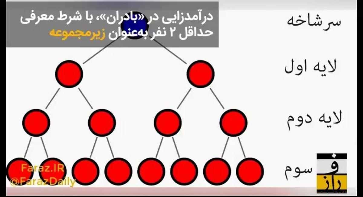 «بادران» شرکت هرمی است یا بازاریابی شبکهای