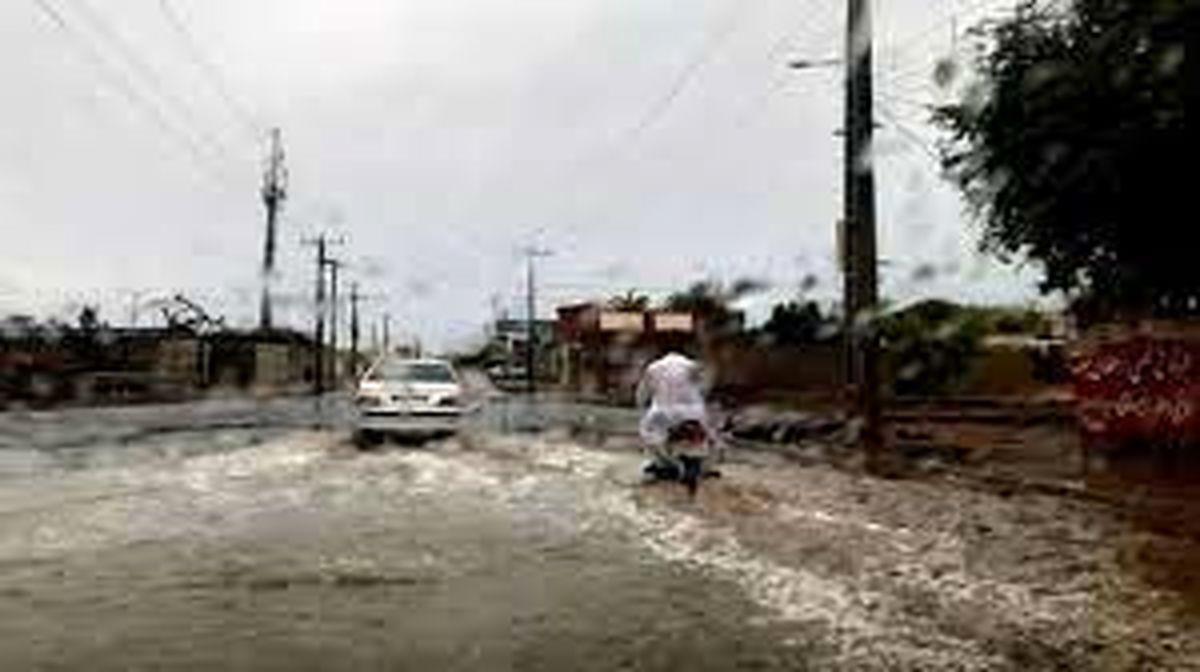 آخرین وضعیت سیستان و بلوچستان و هرمزگان یک روز بعد از آغاز طوفان و رگبار