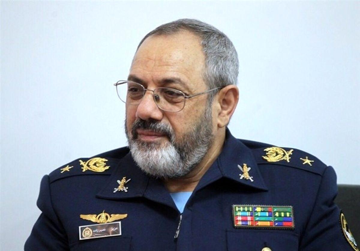 امیر نصیرزاده بعنوان جانشین رئیس ستاد کل نیروهای مسلح منصوب شد