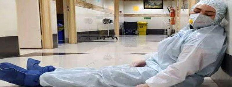 پرستاران در مرز فروپاشی هستند