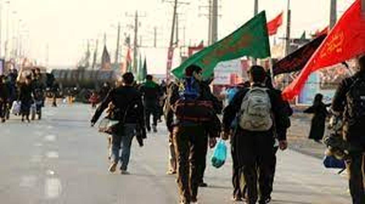 ورود ۵۱ هزار زائر اربعین از طریق مرز مهران به کشور