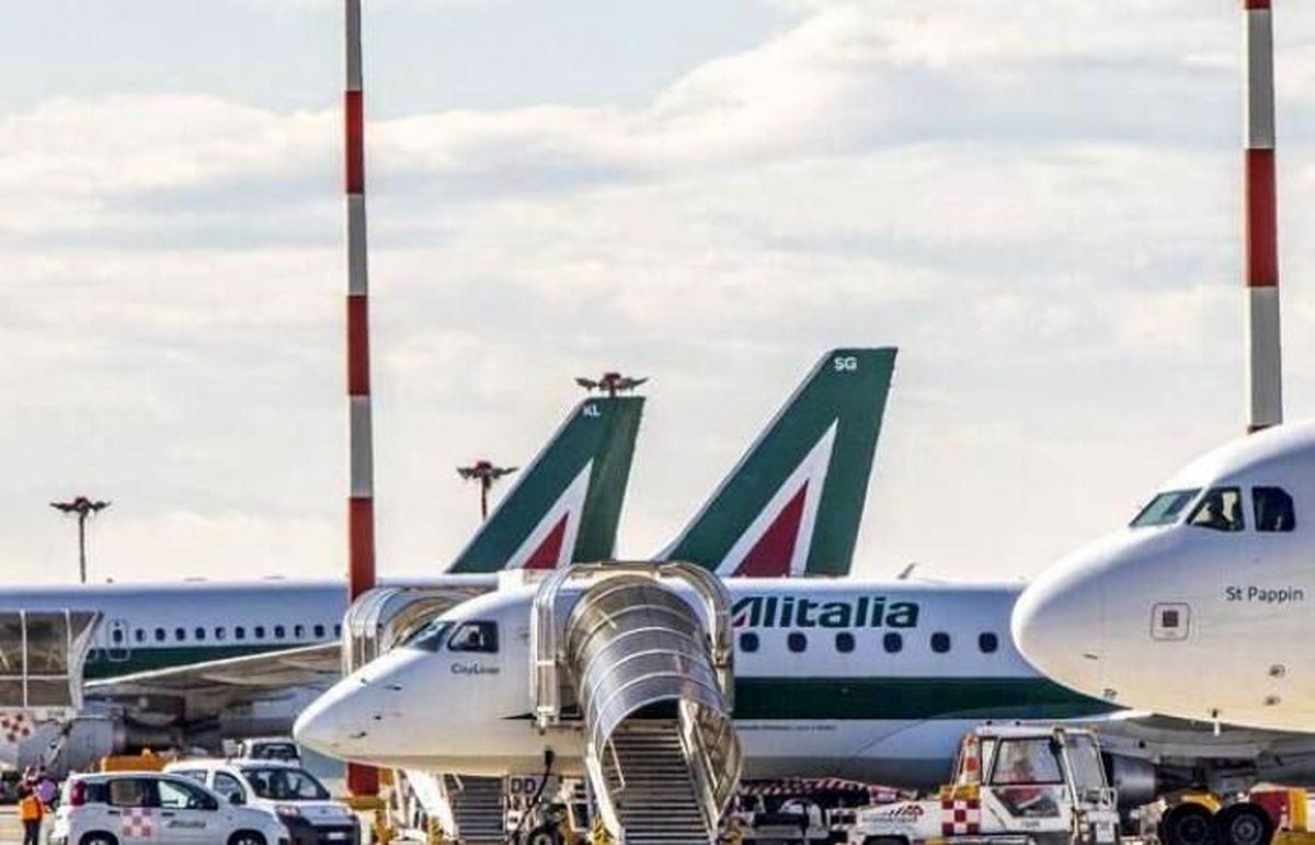 اعتصاب کارکنان، ۱۳۰ پرواز خط هوایی ایتالیا لغو کرد