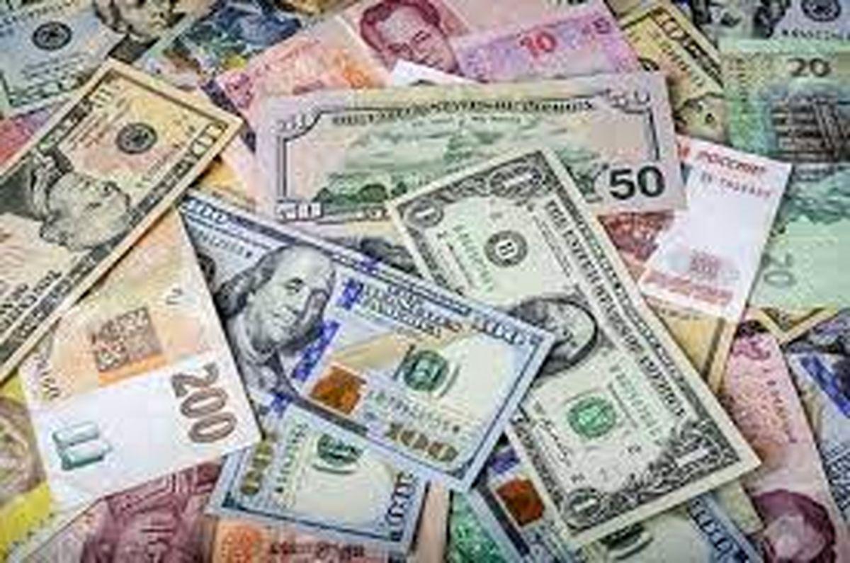 نرخ رسمی ۱۲ ارز ثابت ماند