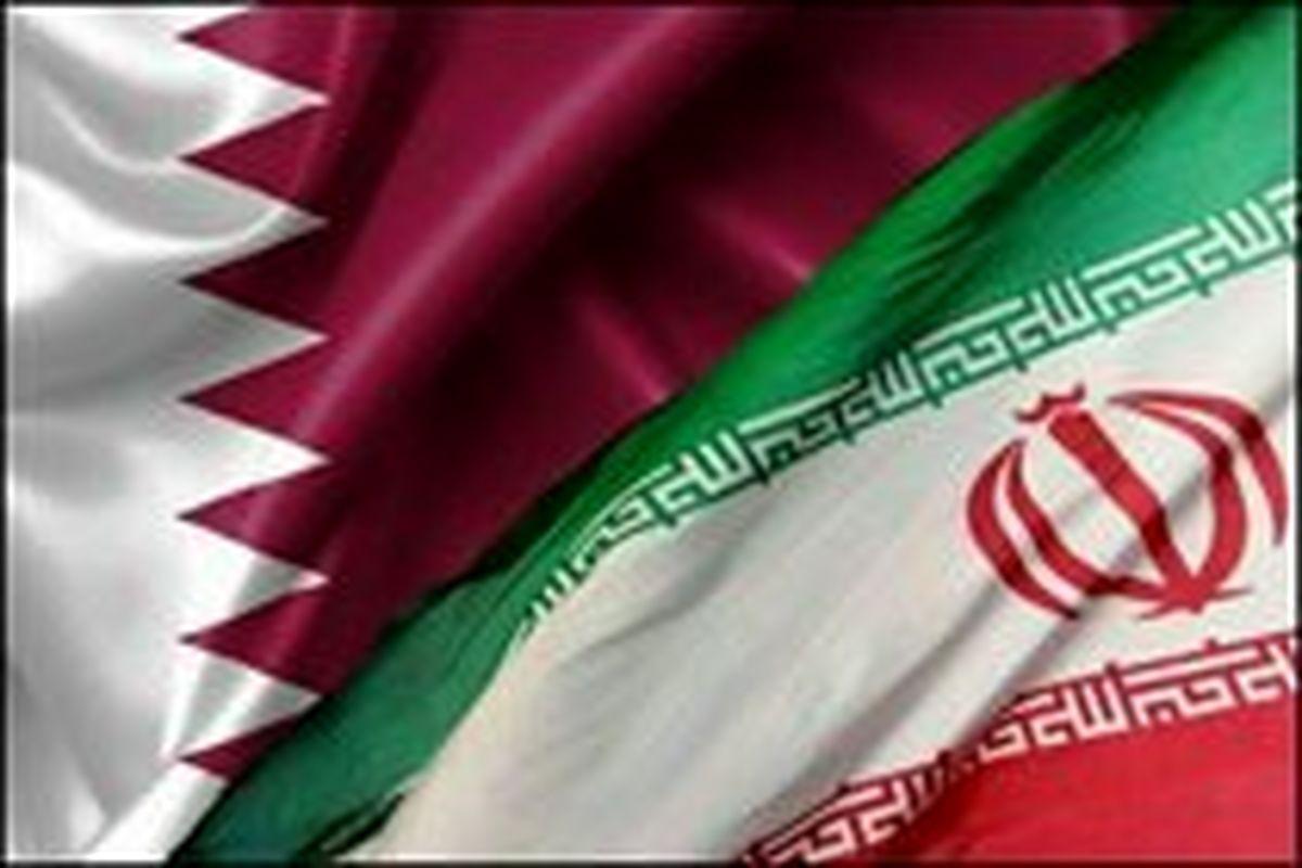 وزیران امور خارجه قطر و ایران در تهران دیدار کردند