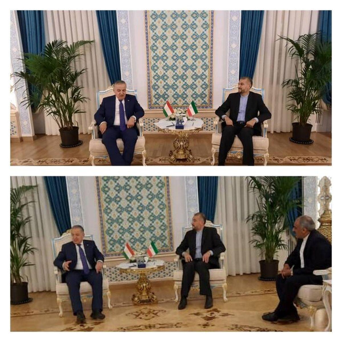وزرای خارجه ایران و تاجیکستان بر لزوم تشکیل دولتی فراگیر در افغانستان تاکید کردند