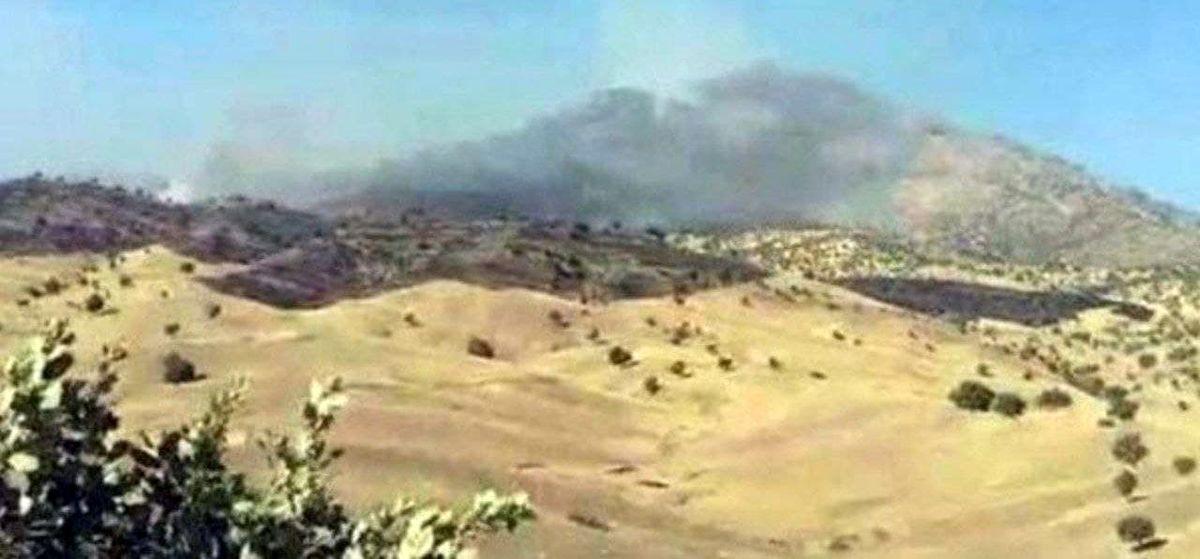 سپاه با ۷ موشک به مقر تروریستها را در کردستان عراق مورد هدف قرار داد